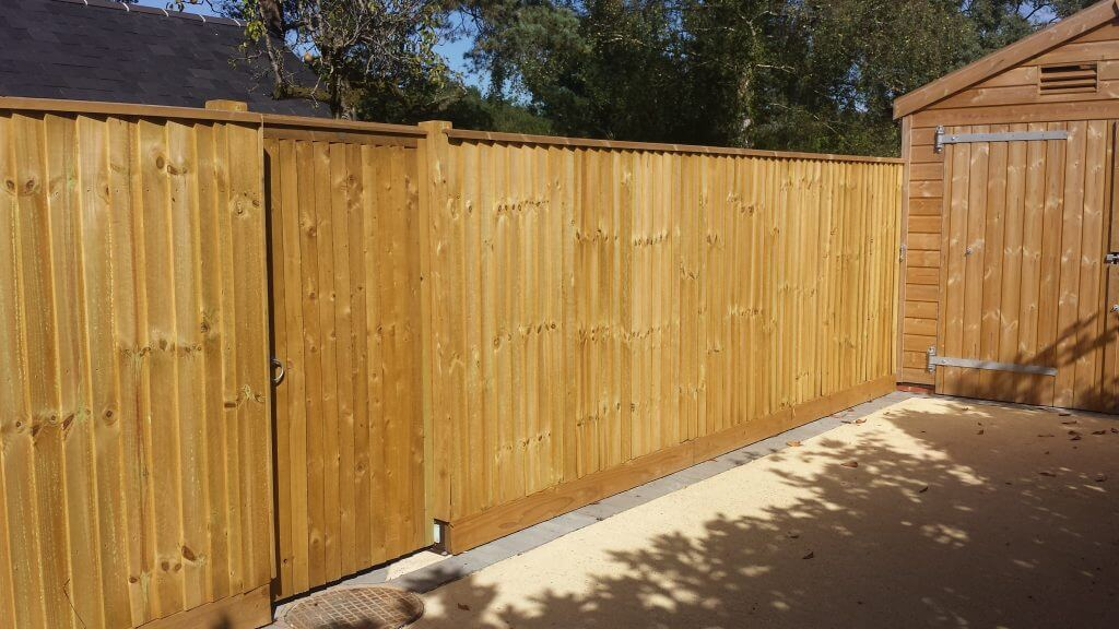 Garden Fencing Supplied and Installed